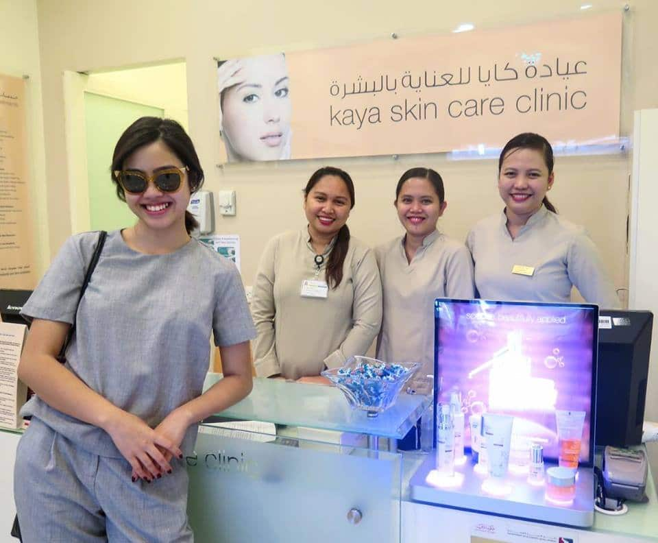 Bettina Micu at Kaya Skin Care Clinic